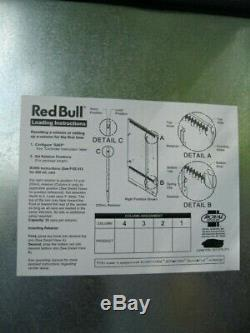 Royal 372 Red Bull Soda Vending Machine $1/$5 and Credit Card Capable