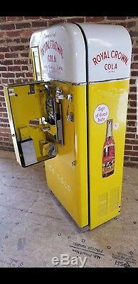 Royal Crown Cola RC Vendo 81 Embossed Coca Cola Coke Pepsi Soda vending machine