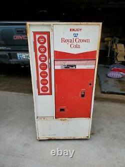 Royal Crown Cola Soda Vending Machine