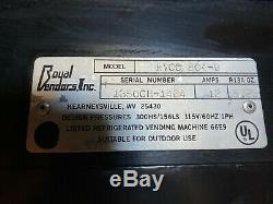 Royal Vendors RVCC 804-9 Soda Can Cold Drink 9 Selection Vending Machine Used