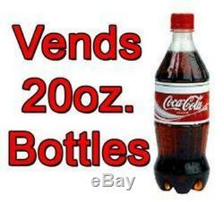 Royal Vendors Soda Canned/Bottled Drink Vending Machine Model 660