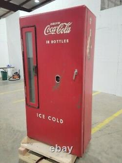 Running Coca Cola Bottle Machine Cooler Westinghouse UD-144 Vintage Collectable