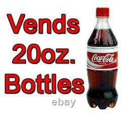 Selectivend/USI Soda Vending Machine Cans or Bottles With Credit Card Reader