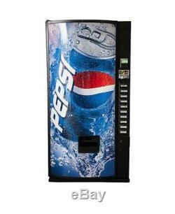 Soda Vending Machine Pepsi No Bill Acceptor