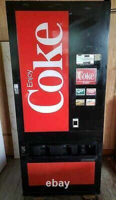 Soda machine by Choice-Vend- Coke logo