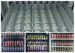 Touch Screen Coke Vending Machine Soda Snack Candy Combo Dispenser Cashless