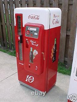 Two Professionally Restored Cavalier 72 Coca-Cola Coke Machines for one price