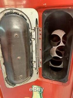 Unrestored 1950 Vendo 39 Coke Machine