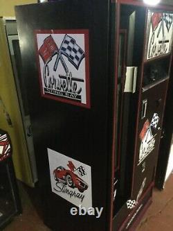 VINTAGE cavalier coke. Corvette Custom VENDING MACHINE