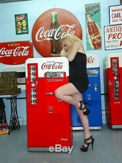 VMC 44Coca Cola Coke Machine Professional Restoration Vendo 81 BEST IN USA