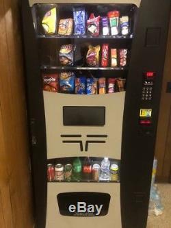 Vending Machine COMBO SODA / SNACK candy pop Office Deli Food truck Genesis