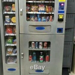 Vending Machine COMBO SODA / SNACK candy pop Office Deli Food truck Genesis1