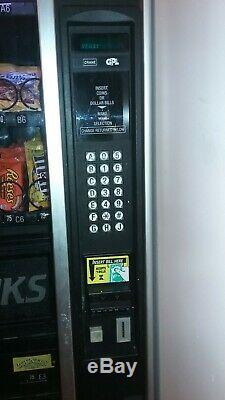 Vending Machine, Soda & Snacks, Used, Good Condition, $1 Bill and Coin Changer