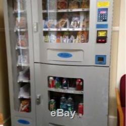 Vending Machine new COMBO SODA / SNACK candy pop Office Deli Food truck Genesis