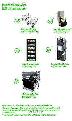Vendo 540 10 Select Soda Vending Machine Drink Machine LOCATION READY