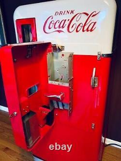 Vendo 56 Coke Machine Fully Restored by Ricks Restorations in Las Vegas