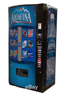 Vendo 601 Multi Price Soda Beverage Vending Machine with Aquafina Graphics