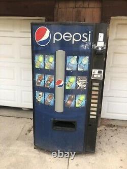 Vendo 601 Soda Vending Machine Pepsi Graphic