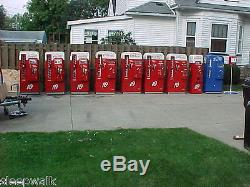 Vendo 81 A Cavalier 72 Coca Cola Coke Machine, 7up Dr. Pepper, RC Cola, soda