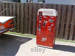Vendo 81 B Coca Cola Coke Machine BEST IN USA! Professional Restoration 44 39 56