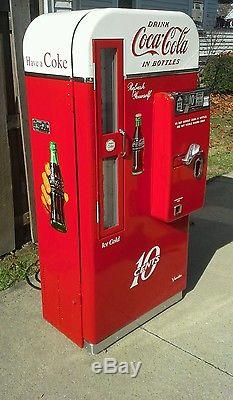 Vendo 81 D #2 1958 Coca Cola Coke Machine Pro Restoration BEST IN THE USA! CALL