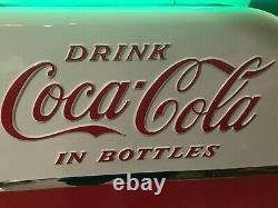 Vendo 81b/ Coca Cola/ Coke Machine/ Restored & Works Great
