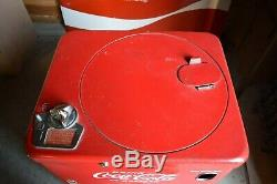 Vendo A23 Coca Cola Vending Machine Original 1950s Small Bottle Top Loading