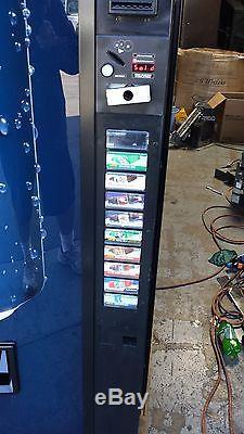 Vendo Multi Price Soda Vending Mach. 12,16 & 20oz Pepsi/Coke 10 Selection USA