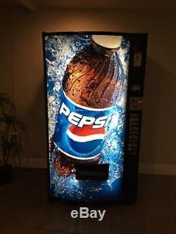 Vendo Pepsi Coke Soda Drink vending machine