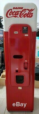 Vendo VMC 44 Slim Coke Coca Cola Vending Machine Antique Vintage