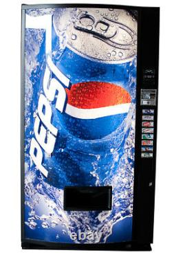 Vendo v407 Single Price Can Soda Vending Machine Pepsi FREE SHIPPING