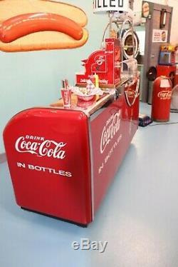 Victor Coca-Cola Kooler-Grill