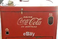 Vintage 1950's Coca Cola Vendo A23 Spin Top Vending Machine