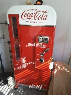 Vintage 1950s Vendo 81 Coca Cola Coke Machine