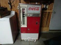 Vintage 1960's Coca Cola Vendo machine -It works great! Firestone Plant