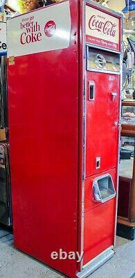 Vintage 1962 Cavalier C-55E 15 Coca-Cola Vending Machine Coke Soda