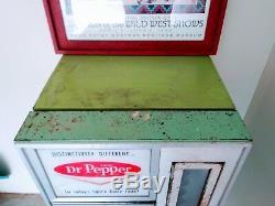 Vintage 1964 Selectivend 9a Dr Pepper Machine Rare