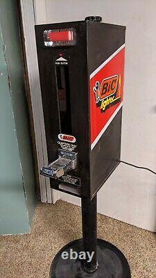 Vintage BIC Lighter vending machine -zig zag sign cigarette soda pepsi coka cola