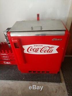 Vintage COCA COLA Machine Glasco GBV-50 Coke Collectible. Local Pick Up