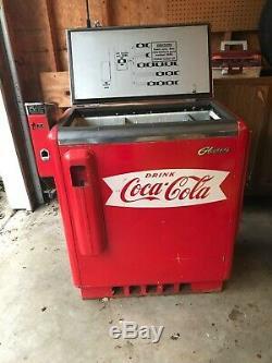 Vintage COCA COLA Pop Machine Glasco GBV-50 WORKS. Offers