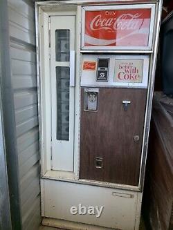 Vintage Cavalier Bottle Coke Machine 1960s Read Description