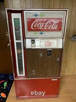 Vintage Cavalier Bottle Coke Machine Read Description