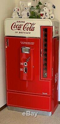 Vintage Coca-Cola 1956 Vendo XH110D Coke Machine Restored
