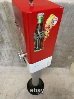 Vintage Coca Cola Coin Changer Machine Arcade Vending Soda Change Changer