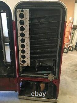 Vintage Coca Cola Vending Machine, Vendo 81