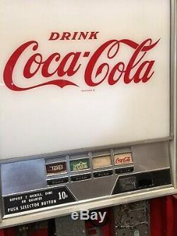 Vintage Coca-Cola Westinghouse Vending Machine