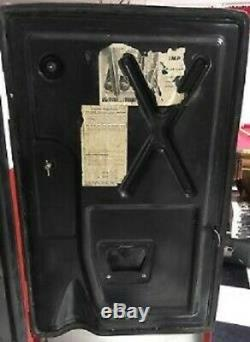 Vintage Coca Cola Westinghouse WC-42T Cooler Bottle Vending Machine
