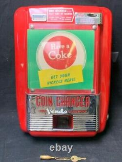 Vintage Coca-cola Vendo Coin Changer (spg041017)