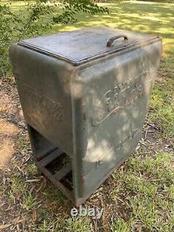 Vintage Coke Coca Cola Machine Cooler Decorative Only