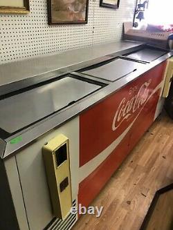 Vintage Coke Cooler Machine Soda Store Advertising